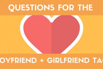 Boyfriend Tag Girlfriend Tag Questions List