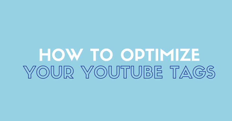 optimize youtube tags