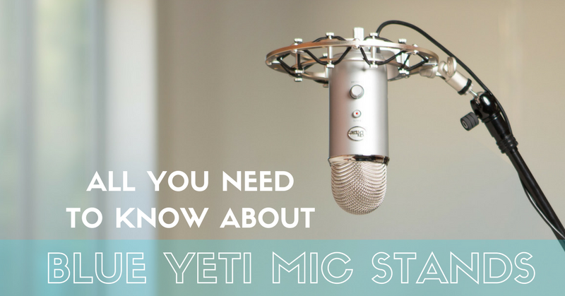 You Ve Finally Got Your Blue Yeti Mic Now Just Need To Set It Up But How Yours And Podcasters Usually Have A Stand Help Them With That