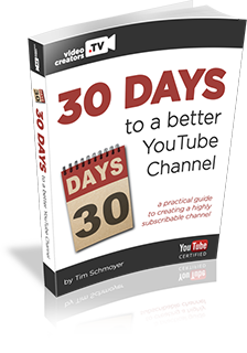 30 Days to a better YouTube Channel PDF