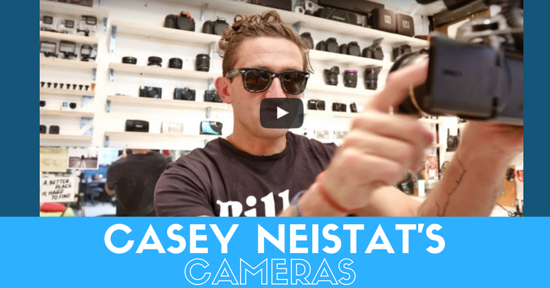 Casey Neistat's Cameras