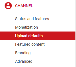The perfect youtube description template why video is great in the upload defaults youre able to create default settings for all of your uploads not only can you choose a default category title and license for maxwellsz